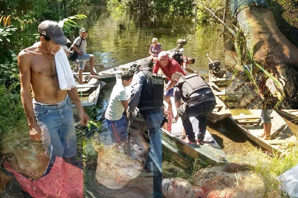 PM ignora, grupo assalta e fere no Mamori, Careiro