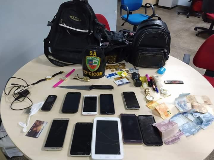 65dc894821d Trio é preso suspeito de integrar quadrilha especializada em assaltos a  ônibus em Manaus